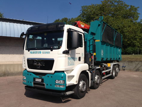 Pradervand Transport - lavage compost